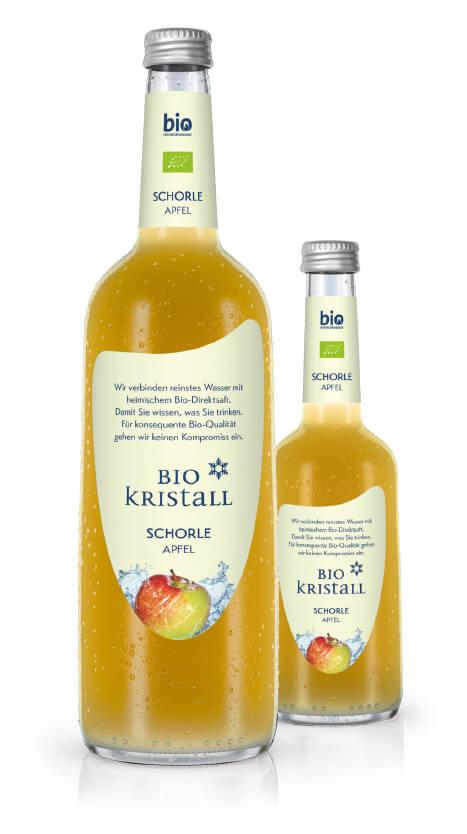 BioKristall Schorle Apfel