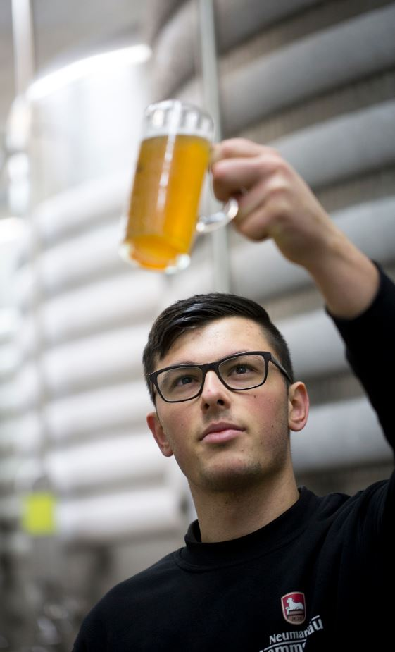 Bier wird klar