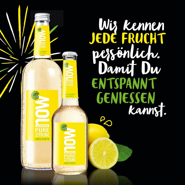 now Pure Zitrone